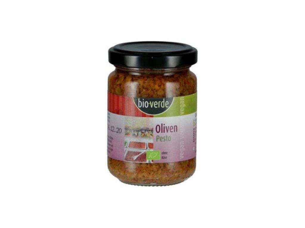 6 x BioVerde Bio Pesto olivové, 125ml