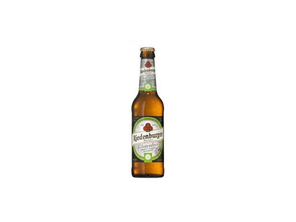 10 x Riedenburger Bio Bezlepkové pivo z prosa, 0,33l