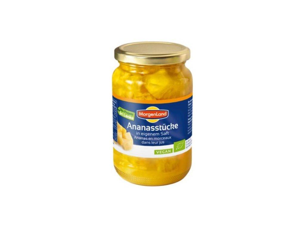 6 x Morgenland Bio Ananas, 370ml