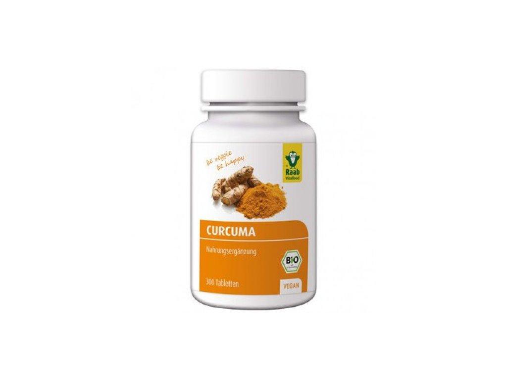 2 x Raab Bio Kurkumové tablety, 300 kusů