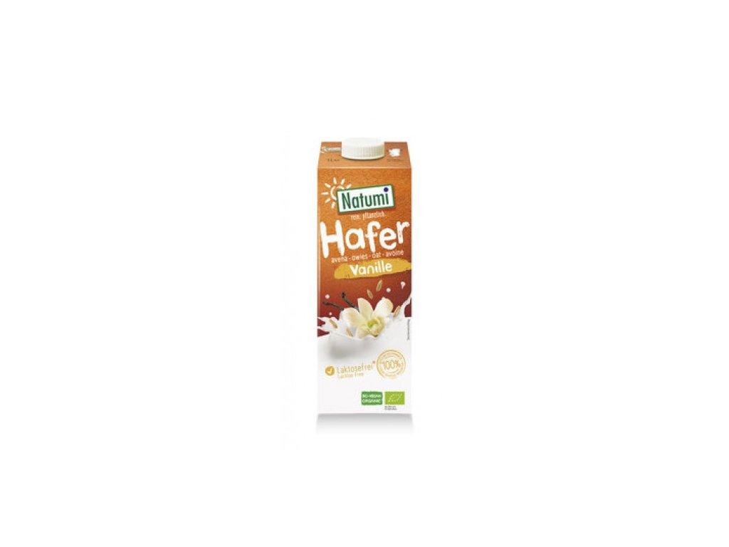 12 x Natumi Bio Ovesný nápoj vanilkový, 1l