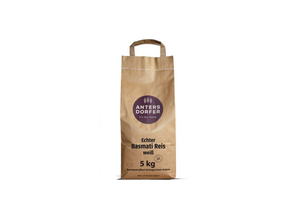 Antersdorfer Bio Rýže Basmati loupaná, 5kg
