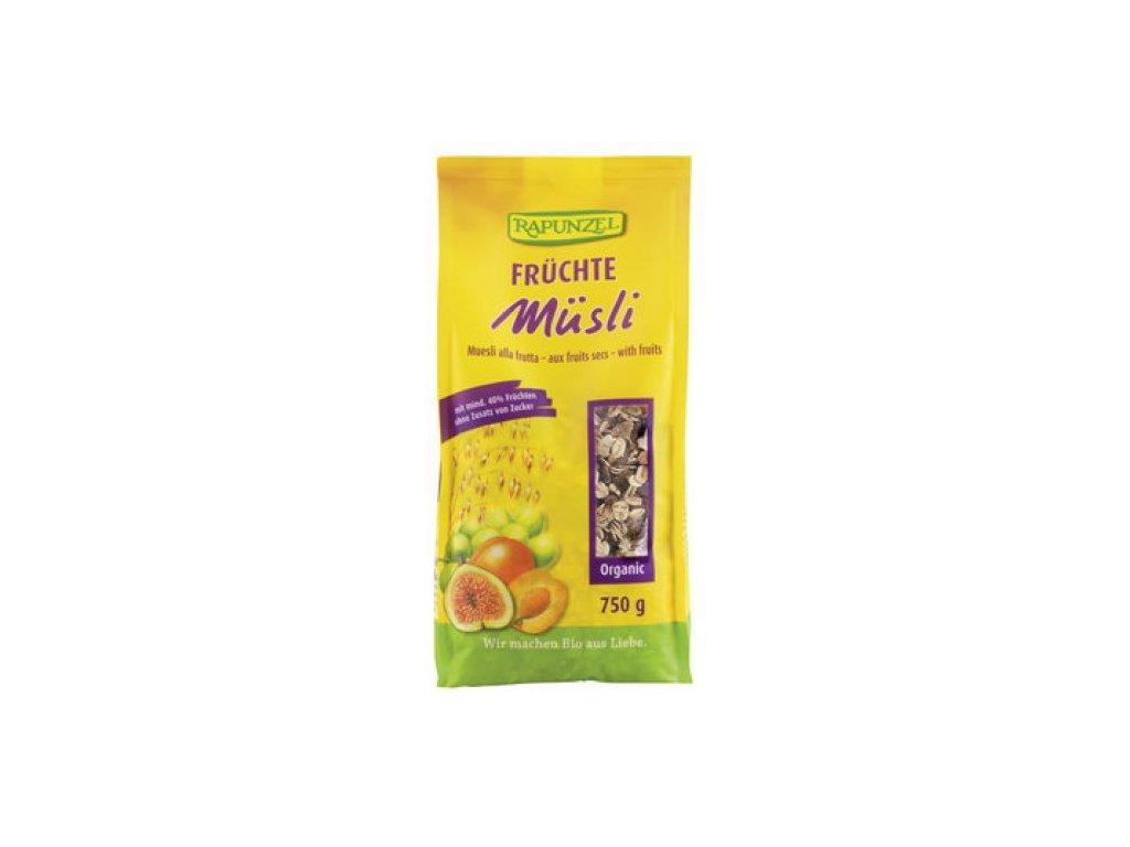 6 x Rapunzel Bio Müsli s fíky a meruňkami, 750g
