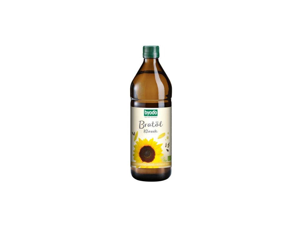 6 x Byodo Bio Olej na smažení Klasik,  0,75l