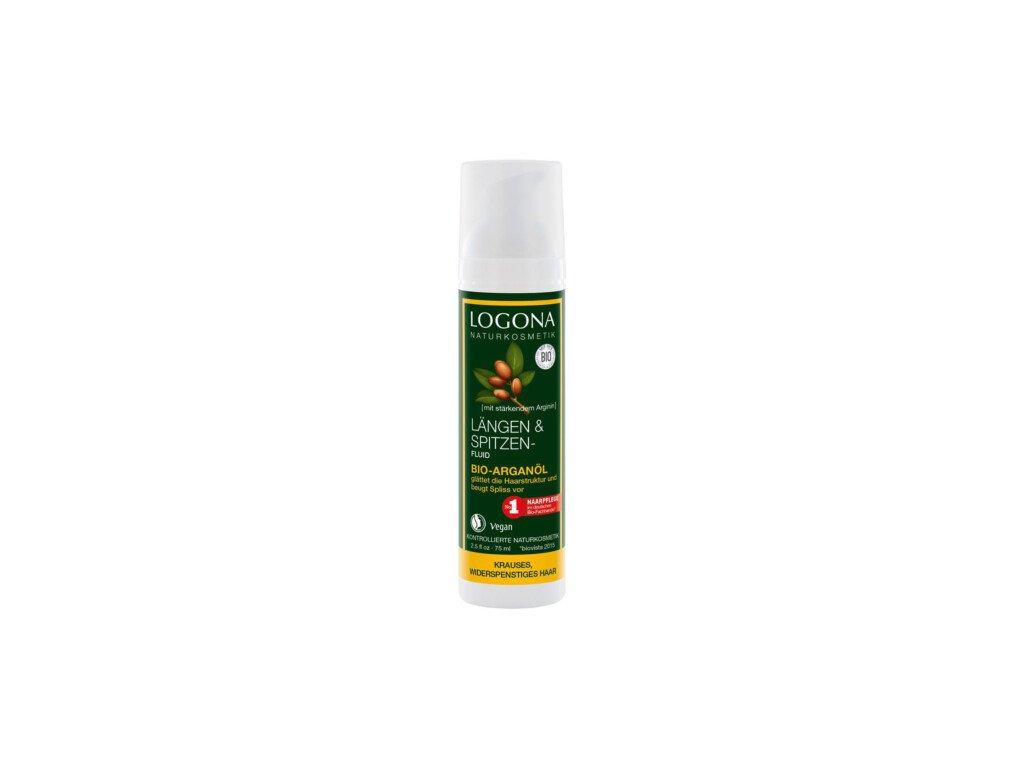Logona Vlasové fluidum s arganovám olejem 75ml