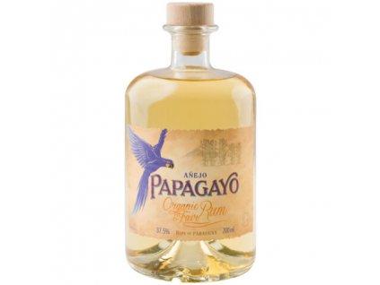 PAPAGAYO Bio Anejo Golden Rum 37,5% vol 0,7 l