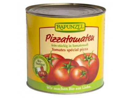Rapunzel Bio Rajčata loupaná na pizzu, 2,55kg