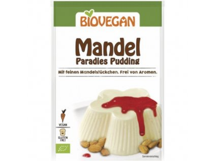 10 x BioVegan Bio Mandlový pudink, 49g