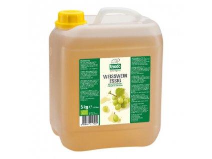 Byodo Bio Ocet z bílého vína 6%, 5l
