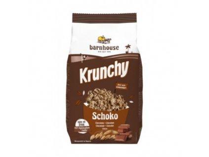 6 x Barnhouse Bio Krunchy müsli čokoládové, 375g