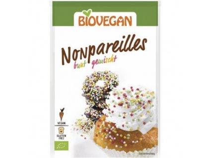 10 x BioVegan Bio Posyp Nonpareilles barevný, 35g