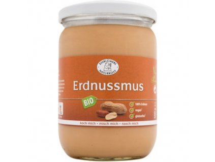 6 x Eisblümerl Bio Arašídový krém jemný bez soli, 500g