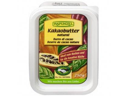 8 x Rapunzel Bio Kakaové máslo, 250g