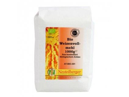 Nestelberger Bio pšeničná mouka celozrnná jemná, 1kg