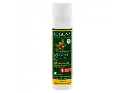Logona Vlasové fluidum s arganovám olejem, 75ml