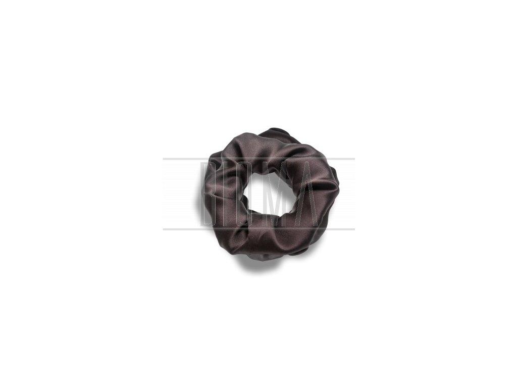 Pilō | Silk Hair Ties - Brunette Large