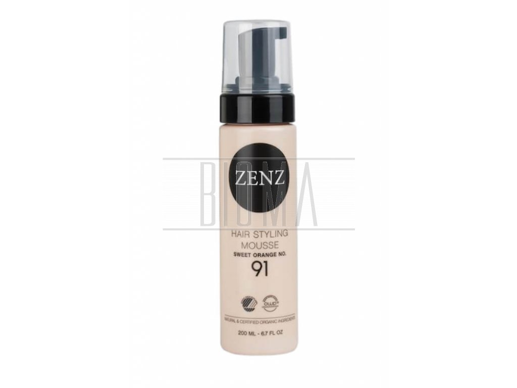 zenz hair styling mousse orange no 91 extra volume 200 ml 2@2x