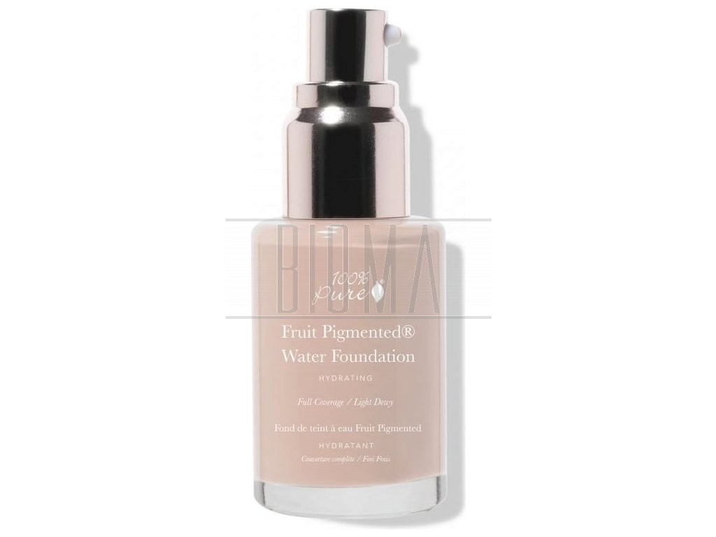 100 pure fruit pigmented full coverage water foundation cool 10 1153509 sk