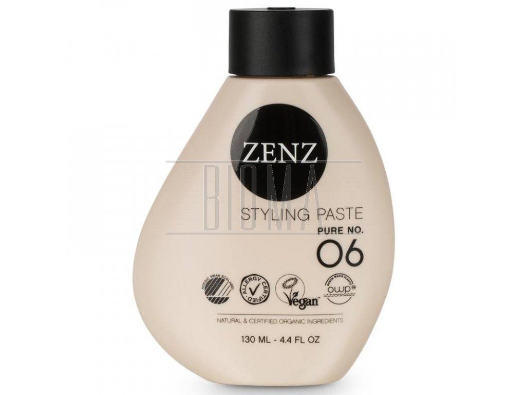 zenz organic pure no 06 styling paste 130 ml 1623761972