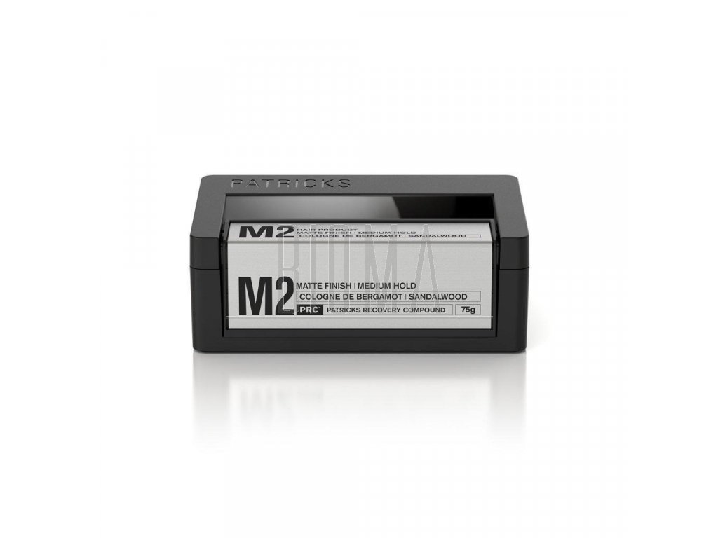 m2 matte finish medium hold styling product patricks hair products