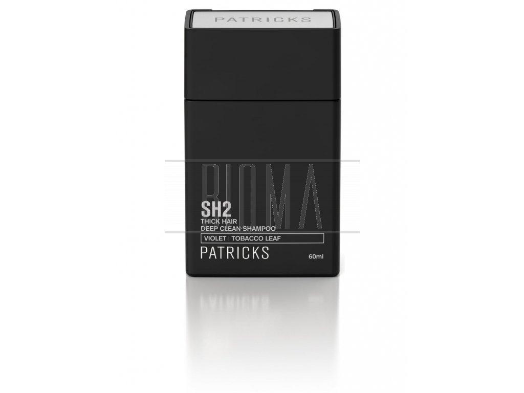 patricks sh2 deep clean shampoo travel size 60ml p1197 2401 image