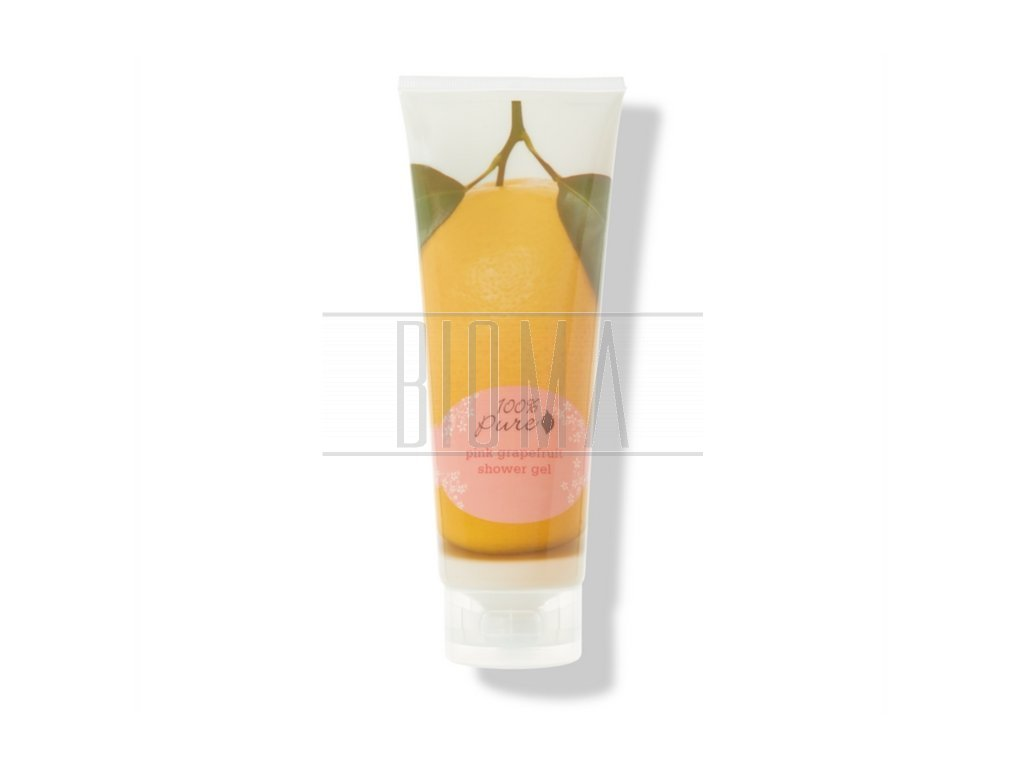236 100 pure sprchovy gel ruzovy grapefruit