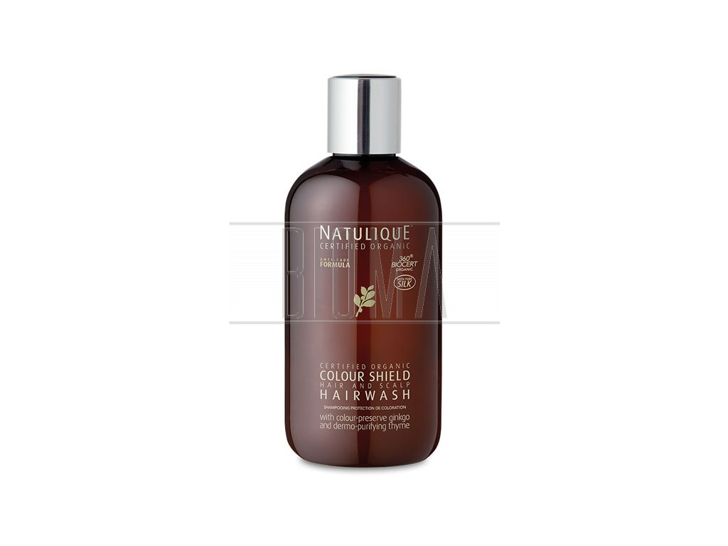 natulique colour shield hairwash 250ml