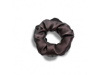 Pilō   Silk Hair Ties - Brunette Large