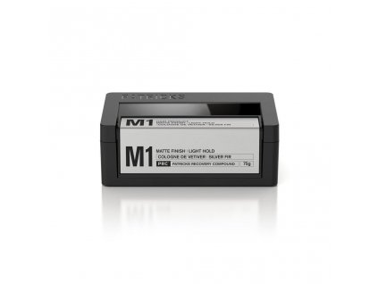 m1 matte finish light hold thickening paste patricks hair products