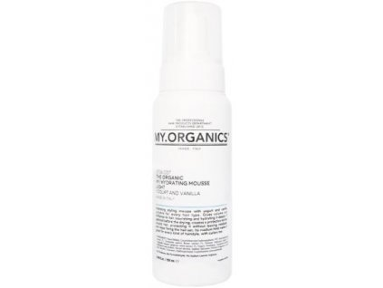 my organics the organic my hydrating mousse light yogurt and vanilla 250ml