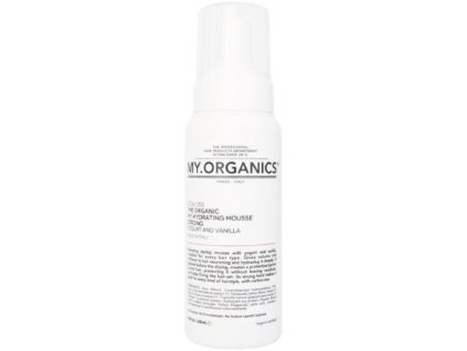 my organics the organic my hydrating mousse strong yogurt and vanilla 250ml