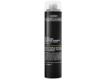 my organics the organic thickening shampoo orange and lemon 250ml