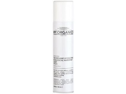 my organics the organic hydrating ecological hairspray light argan 250ml