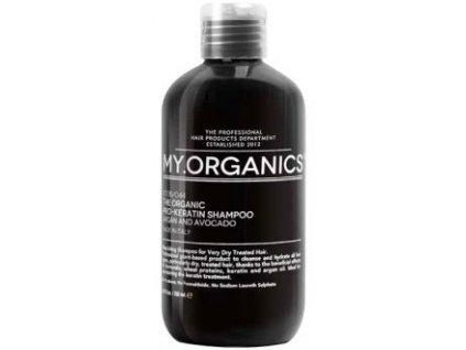 my organics the organic pro keratin shampoo argan and avocado 250ml