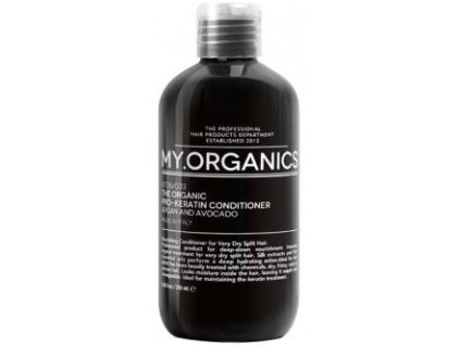 my organics the organic pro keratin conditioner argan and avocado 250ml