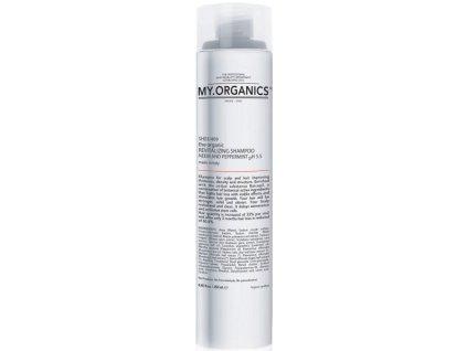 my organics the organic revitalizing shampoo neem and peppermint