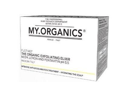 my organics the organic exfoliating elixir neem lemon and pentavitin 6 vials