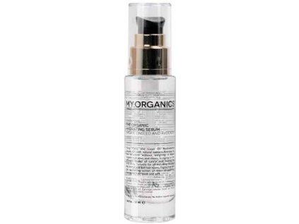 my organics the organic hydrating serum argan linseed and avocado 50ml