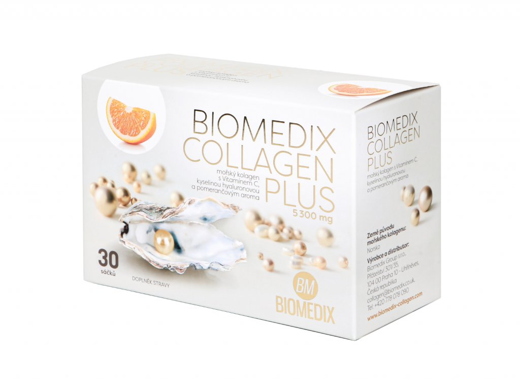 Premium Biomedix Collagen Plus Pomeranč