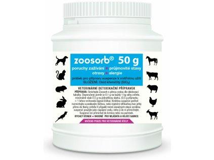 47 1 47 zoosorb velke baleni 50 g detoxikacni prasek pro vase zvire