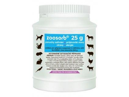 74 1 74 zoosorb stredni baleni 25 g detoxikacni prasek pro vase zvire