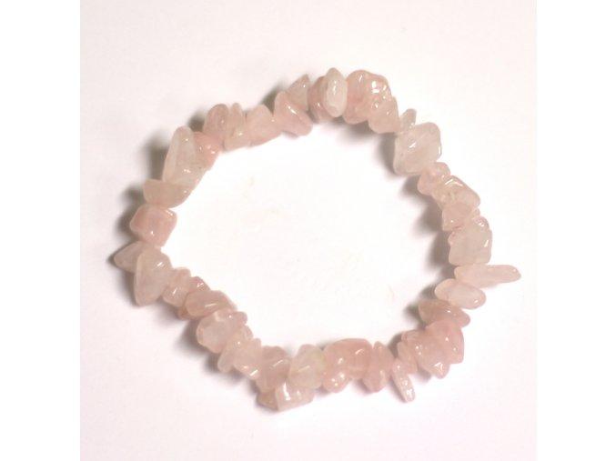 Náramek z vzácných kamenů - Růženín