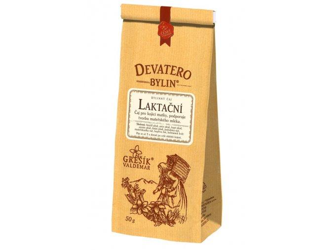 Laktační čaj 50g GREŠÍK Devatero bylin