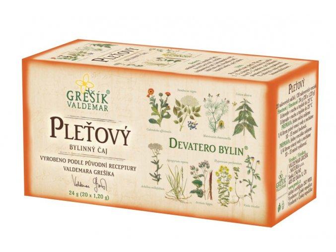 Bylinný čaj Pleťový - GREŠÍK Devatero bylin