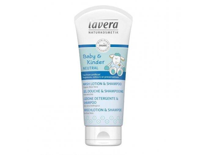 dětský šampon lavera