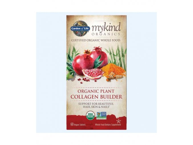 Mykind Organics Plant Collagen rostlinná produkce kolagenu