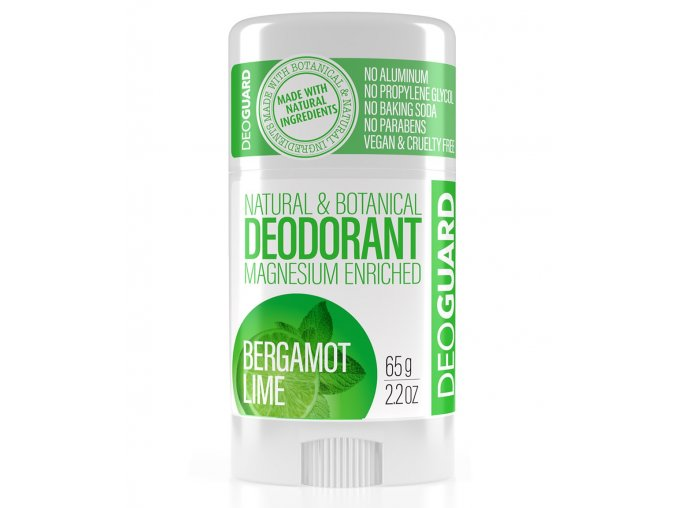 tuhý přírodní deodorant deoguard
