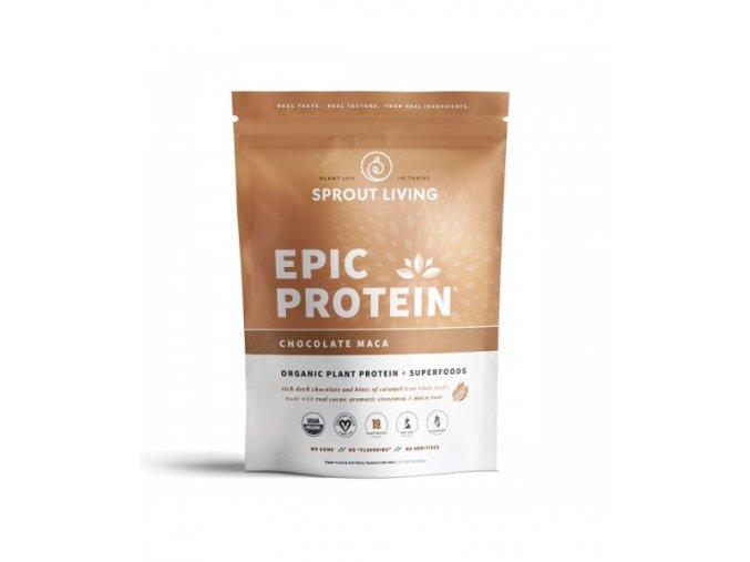 epic protein čokoláda maca