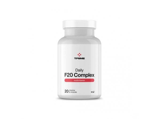 Multivitamin Daily F20 complex 90 kapslí
