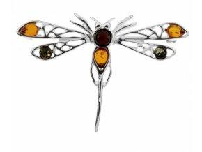 brož vážka